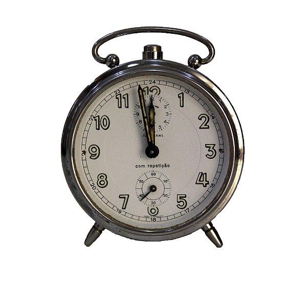 Relógio De Mesa Alemão Junghans