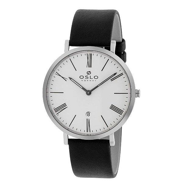 Relógio Oslo OMBSCS9U0007-S3PX Pulseira Couro