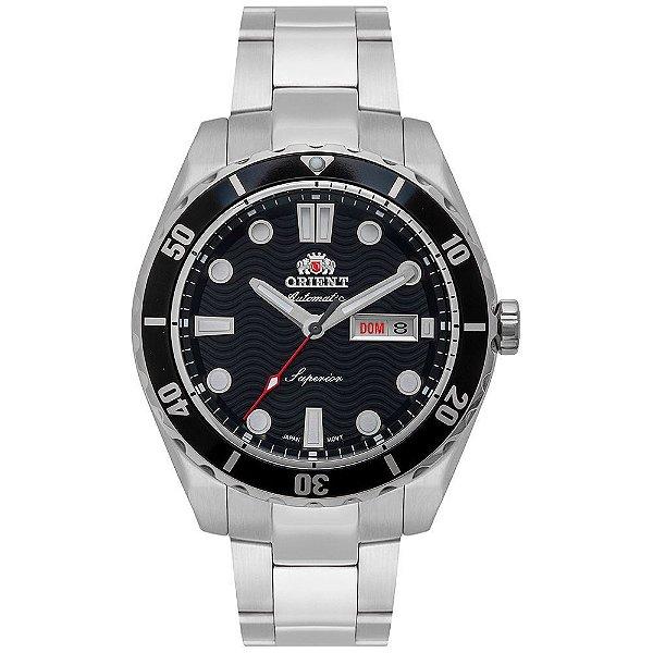 Relógio Masculino Orient Automatic Superior Preto F49SS003-P