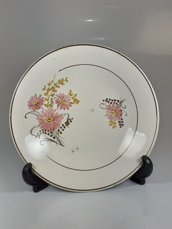 Prato em Porcelana Nadir Figueiredo Pintado a Mão