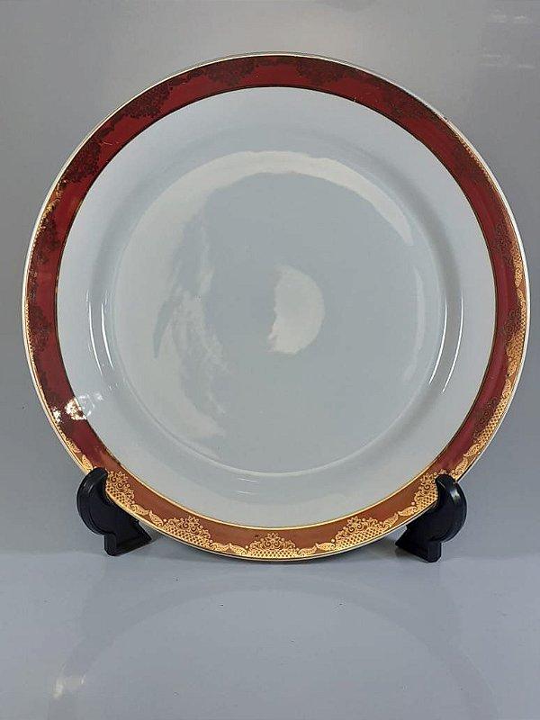 Prato em Porcelana Germer Decorado