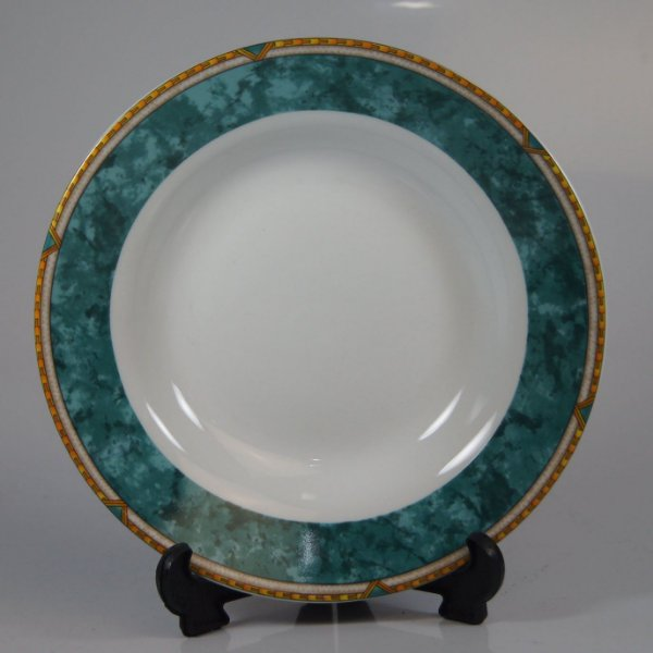 Prato de Sobremesa em Porcelana Invitations Decorado