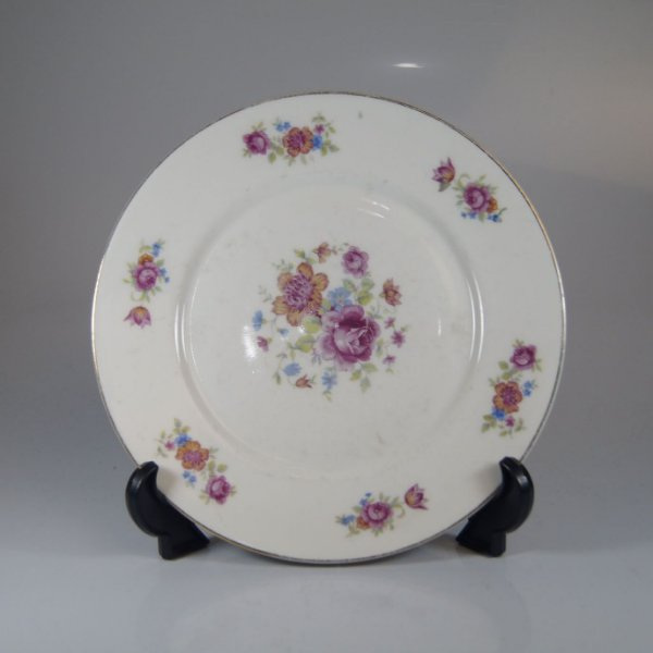 Prato em Porcelana Maua Floral