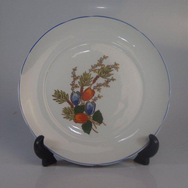 Prato em Porcelana Real Pintado a Mão