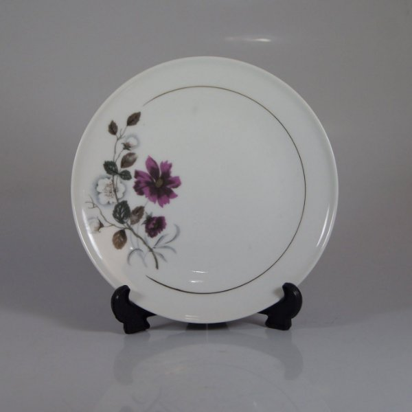 Prato de Sobremesa em Porcelana Steatita Floral