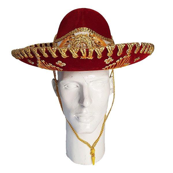 Chapéu Sombrero Mexicano Pigalle Feminino