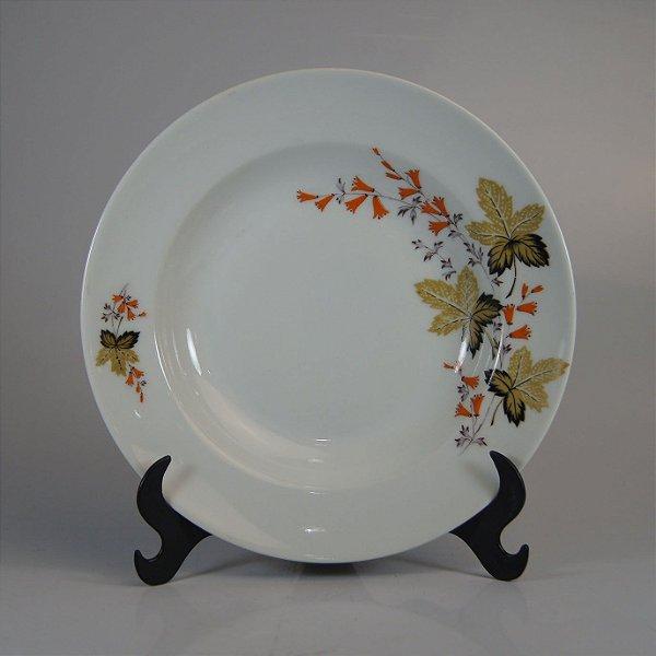 Prato em Porcelana Real Floral