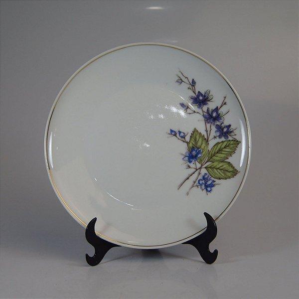 Prato de Sobremesa em Porcelana Schmidt Floral
