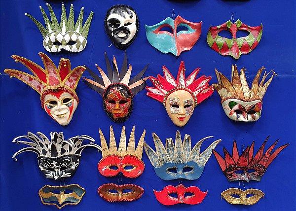 Mascara Veneziana Baile Carnaval Preço Unitário