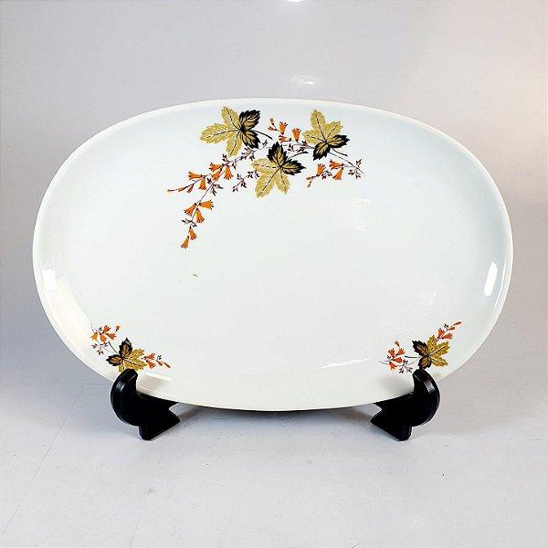 Travessa em Porcelana Real Floral