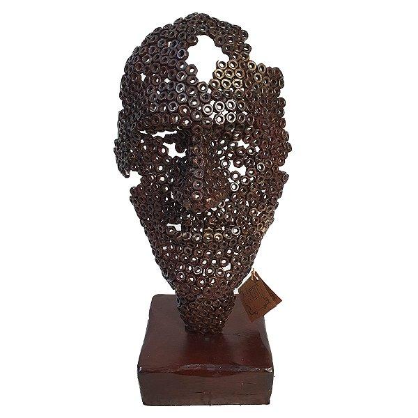 Escultura Em Ferro Arte Rústica - Mario Pascioniki