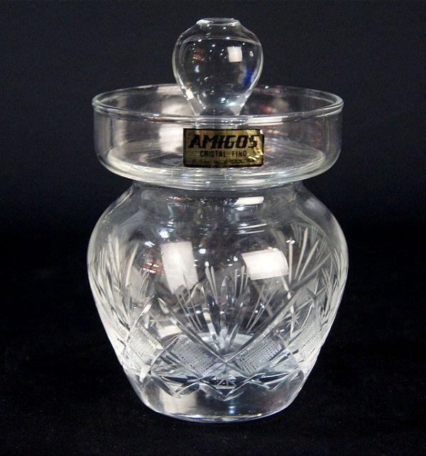 Potiche Pote Em Cristal 15cm