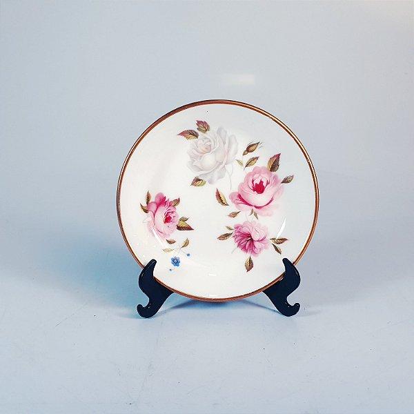 Prato Decorativo em Porcelana Inglesa 1974