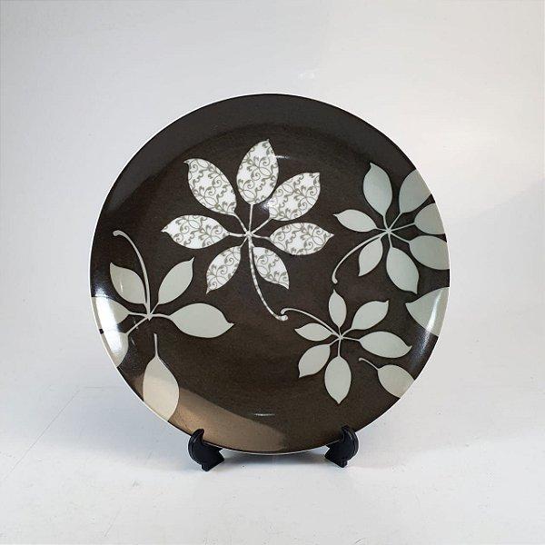 Prato de Sobremesa em Porcelana Germer Floral