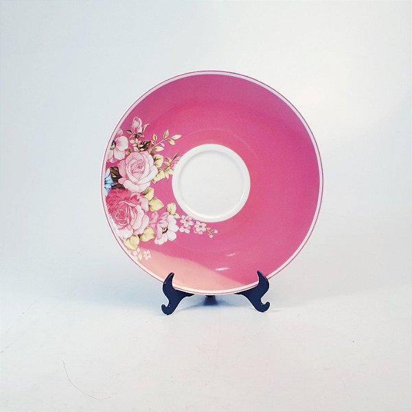 Pires em Porcelana Casamiga Floral