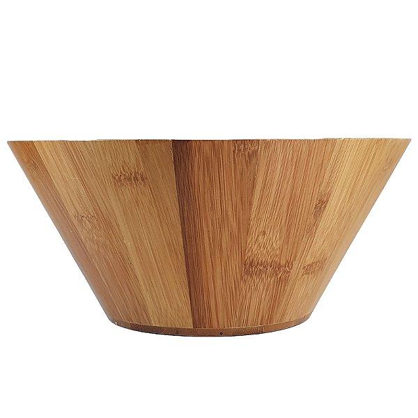 Gamela Em Bambu Origem África 28cm