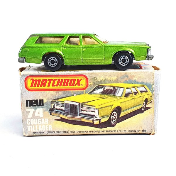 Matchbox Superfast Cougar Villager N 74