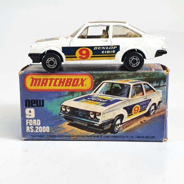 Matchbox Superfast Ford RS.2000 N 9