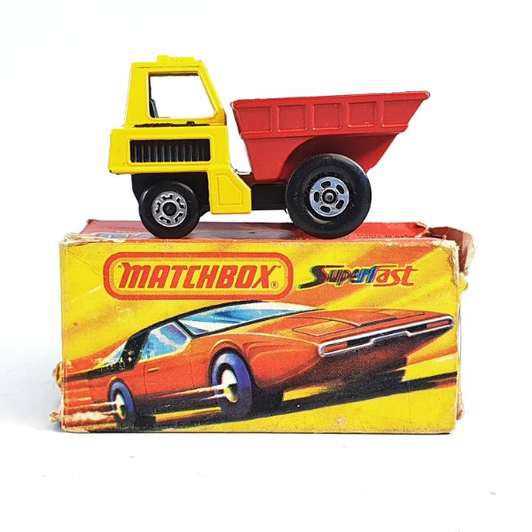 Matchbox Superfast Site Dumper N 26 Caixa Extra