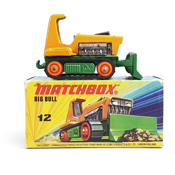 Matchbox Super Traction Big Bul N 12