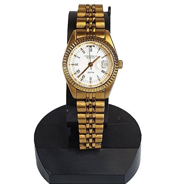 Relógio de Pulso Technos Riviera Dourado