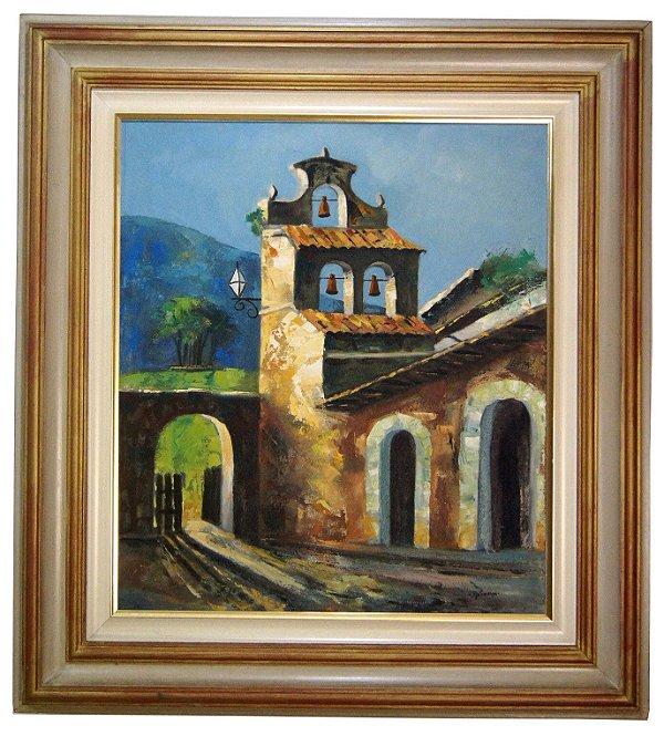 Quadro Pintura a Óleo - Jonas Malinverni Filho