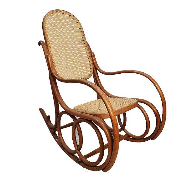 Cadeira De Balanço Austríaca Thonart