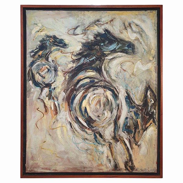 Quadro Pintura a Óleo Cavalos - José Márcio Pupulim