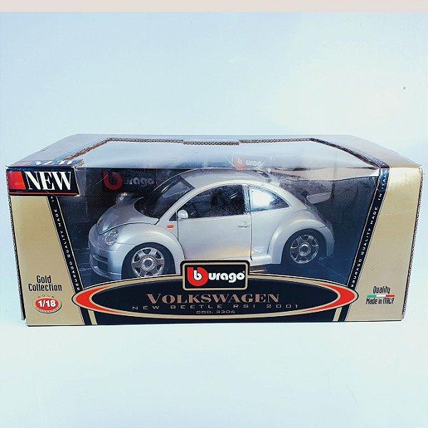Miniatura Volkswagen New Beetle RSI (2001) Bburago Gold