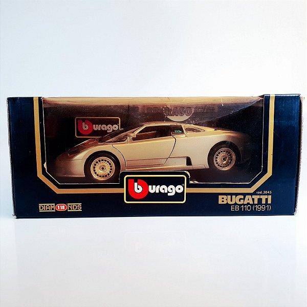 Miniatura Bugatti EB110 (1991) Bburago Gold