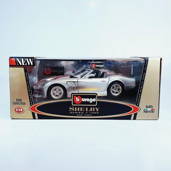 Miniatura Shelby Series 1 Burago 1999 Diamonds