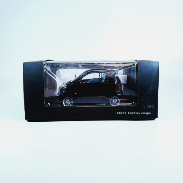 Miniatura Smart Fortwo Coupé Deep Black