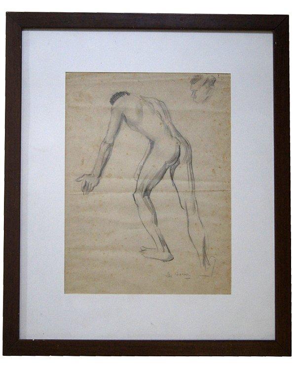 Quadro Gravura Estudo - Theodoro de Bona (45x37)