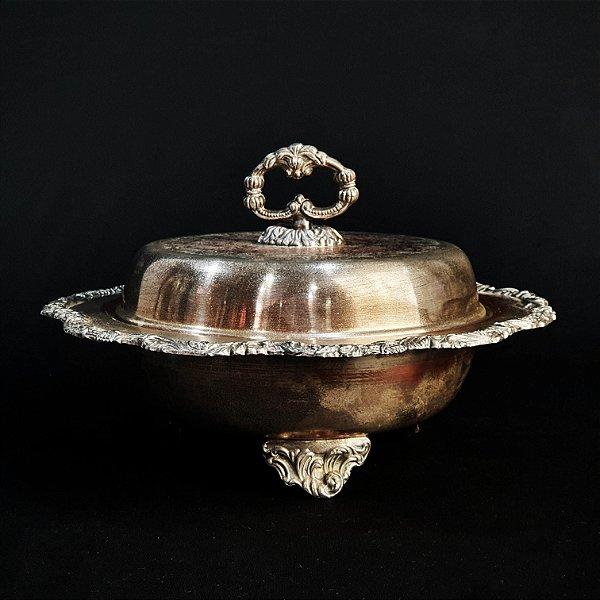 Sopeira em Banho de Prata Estilo Luis XV