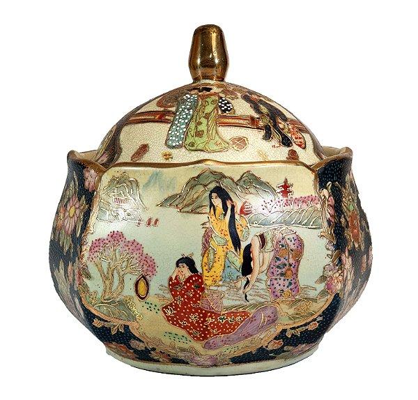 Sopeira Terrina Em Porcelana Republica Qianlong