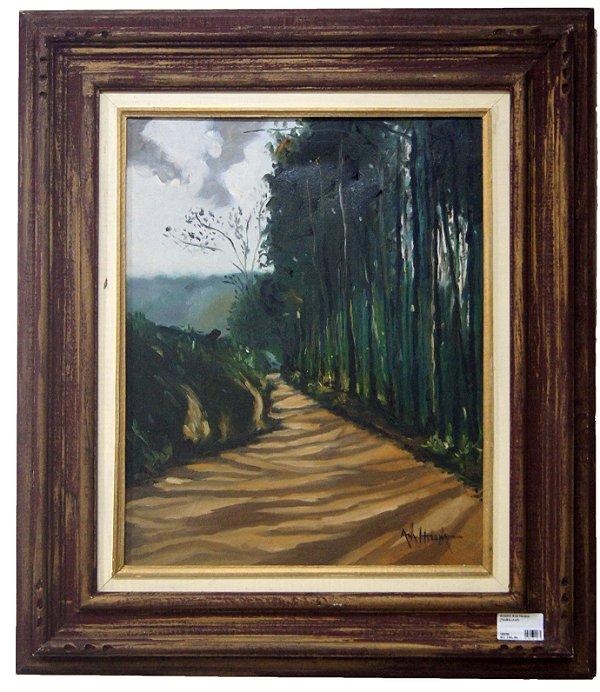 Quadro Pintura a Óleo Estrada - Ana Helena