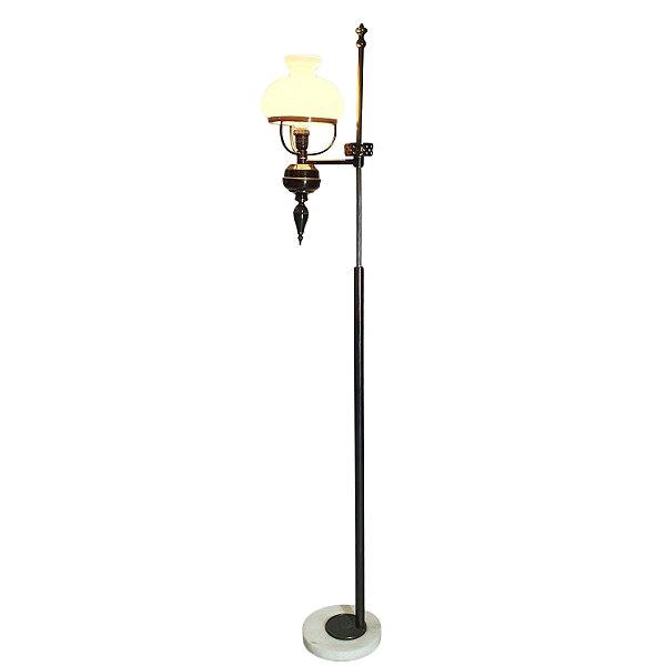 Luminária De Piso Estilo Lamparina Anos 60