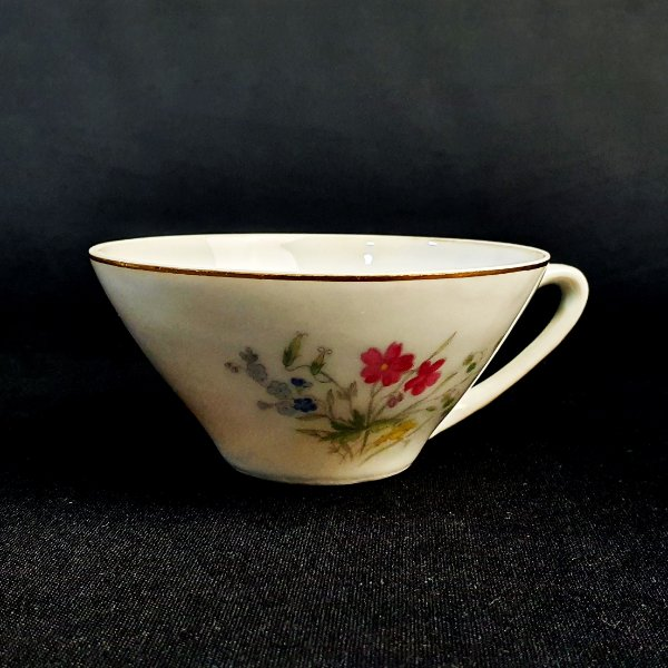 Xícara de chá em porcelana Real Floral