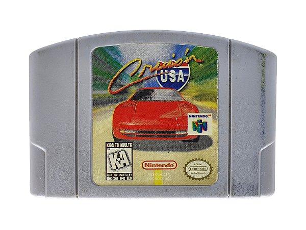 Jogo Nintendo 64 Cruis'n USA