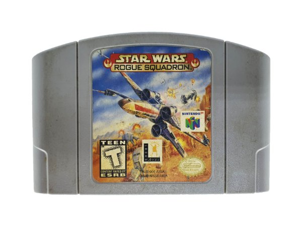 Jogo Nintendo 64 Star Wars Rogh Squadron
