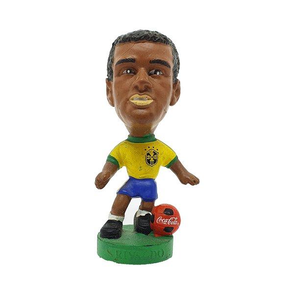 """Mini Craque """"Rivaldo"""" Copa 1998"""
