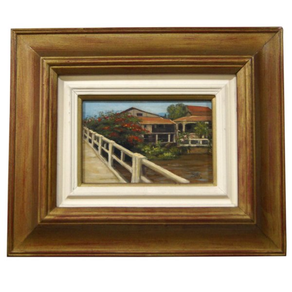 Quadro Pintura a Óleo - Belkis Paske 84 34x41cm