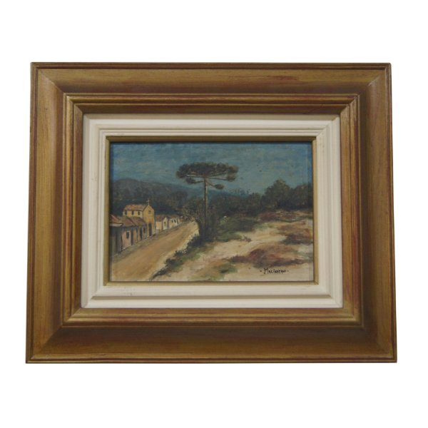 Quadro Pintura a Óleo Jonas Malinverni Filho 42x49cm