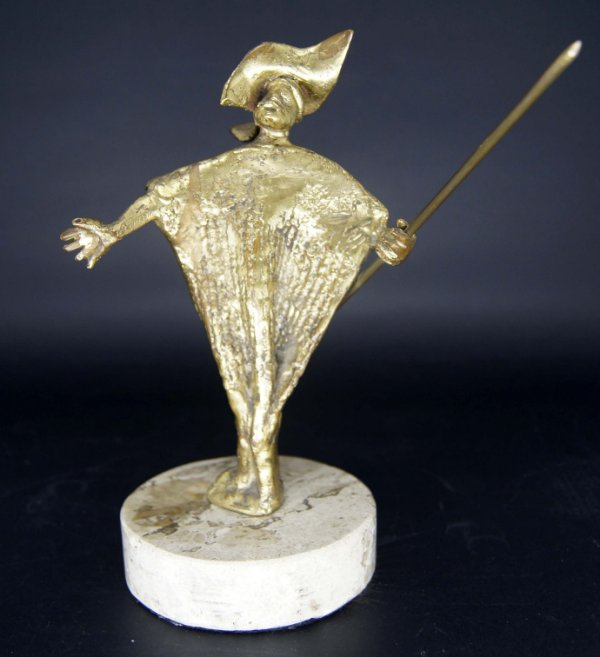 Escultura em Bronze Luiz Gagliastri