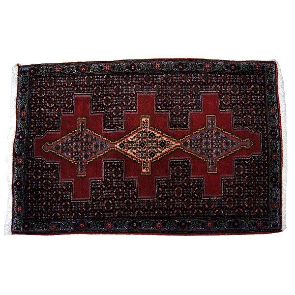 Tapete Persa Antigo Vermelho 118c x 74l