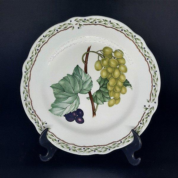 Prato de Decorativo Porcelana Noritake Royal Orchard
