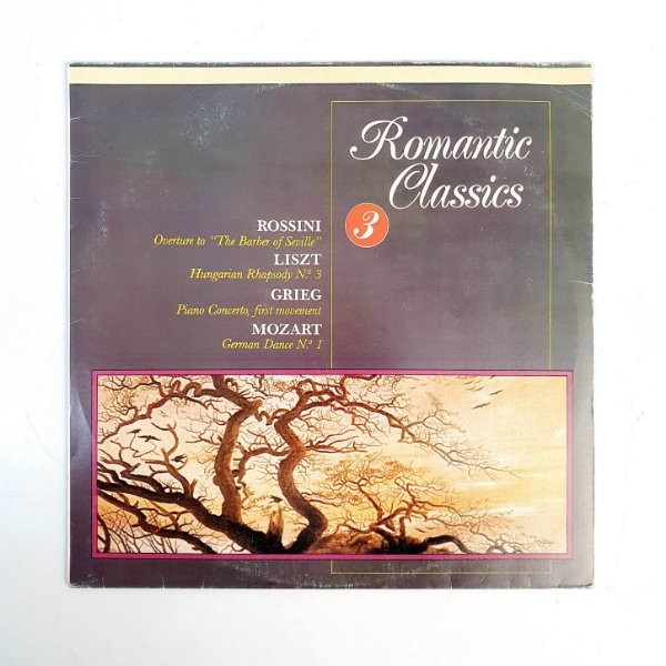 Disco de Vinil - Romantic Classic - Vol 3