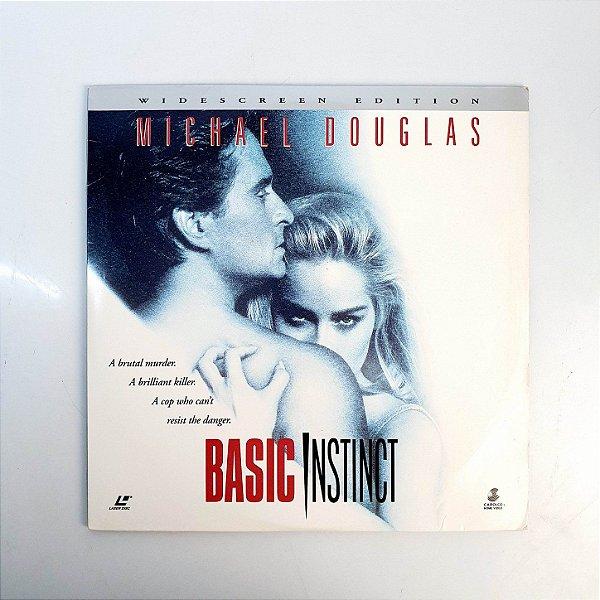 Laser Disc - Basic Instinct - LD Basic