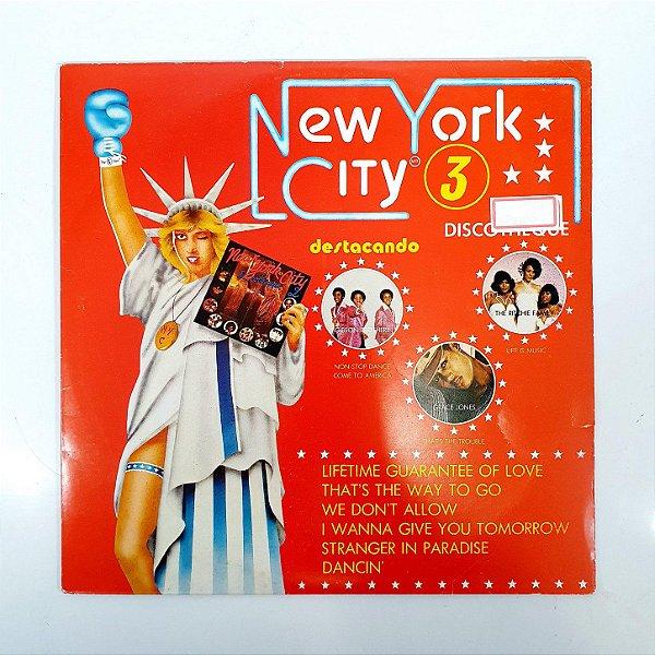 Disco de Vinil - New York City 3 - 1977