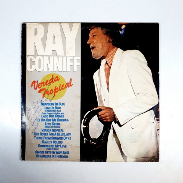 Disco de Vinil - Ray Conniff - Vereda Tropical